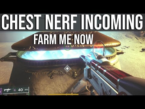 Attention Everyone: FARM THE DESTINY 2 MENAGERIE CHEST NOW