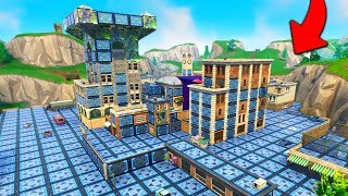 1000x BOUNCE PADS IN TILTED TOWERS in Fortnite!