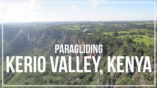 preview picture of video 'Kerio Valley, Kenya   Paragliding'