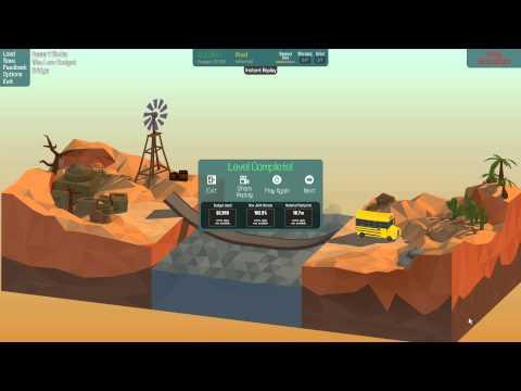 Poly Bridge Minimum Budget Completions - Alpine Meadows & Desert Winds