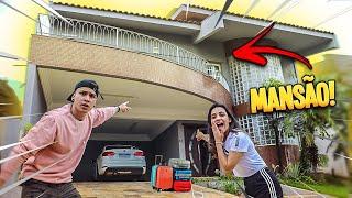 Surpresaaa...Vamos mudar para uma mansão !!! * Mansão Thai e Biel *