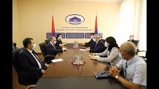 Состоялась встреча Министров иностранных дел Армении и Арцаха
