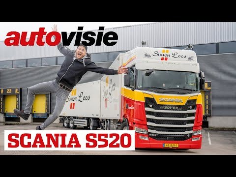 Uw Garage: Scania S520 - Martijn Kuipers - Mighty Truckers | Autovisie