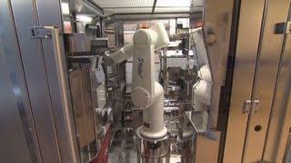 Inside the robotic pharmacy