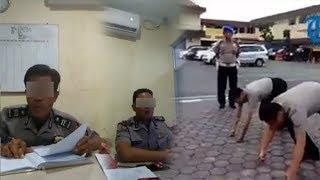 Disebut Datangi Roida usai Videonya Viral, 2 Polisi yang Diduga Lakukan Pungli Disuruh Push-up