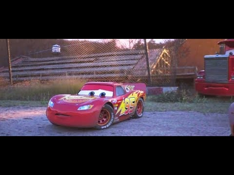 Cars 3 McQueen Training (Movie Clip)