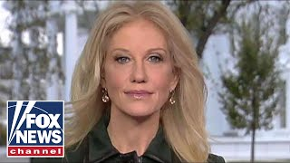 Kellyanne Conway on CA shooting, suspending CNN's Acosta