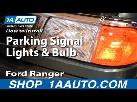 How to Replace Corner Light 93-97 Ford Ranger