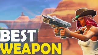 DOUBLE DUAL PISTOL DOMINATION   THE BEST WEAPON IN THE GAME - (Fortnite Battle Royale)