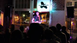 """Mercy Street"" (Peter Gabriel Cover) - By: Ari Hest - Live at BUNCEAROO - 4/10/15"