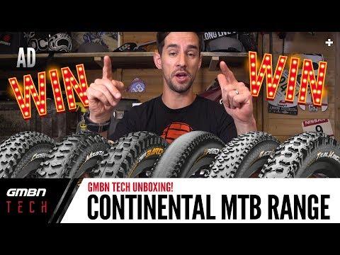 Continental's Range Of Premium King Mountain Bike Tyres | GMBN Unboxing