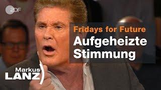 Klima-Krach mit Lindner, Hasselhoff und Neubauer - Markus Lanz vom 04.04.2019   ZDF