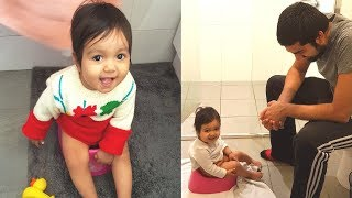 TOILET TRAIN BABY: Why we Started Potty Training our Baby at 8 Months