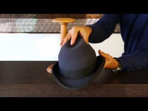 Akubra Homburg Carbon Grey Hat Review- Hats By The Hundred