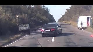 Аварии на дорогах, приколы на дороге 2018 4