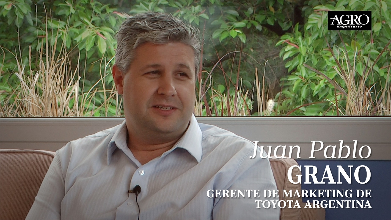 Juan Pablo Grano - Gerente de Marketing de Toyota Argentina