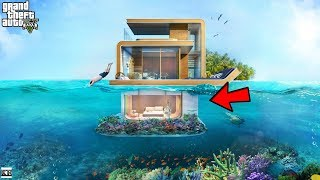 GTA 5 REAL LIFE MOD SS8#39 MANSION UNDERWATER