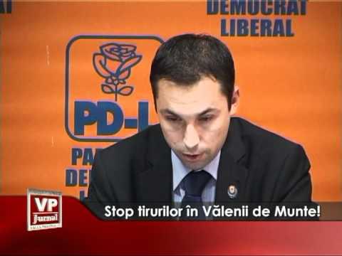 Stop tirurilor in Valenii de Munte!