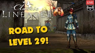 Lineage 2 Classic NA - Road to level 29!