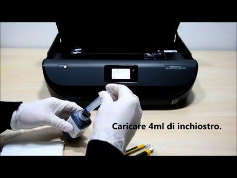 Come ricaricare cartuccia Hp 302 Nero
