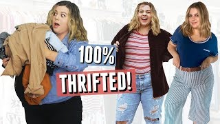 I Wore Only Thrifted Clothes for A Week!