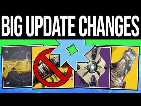 Destiny 2 | HUGE APRIL UPDATE & EXOTIC CHANGES! Wardcliff Nerf, New Drop Rates, Quests & Sandbox!