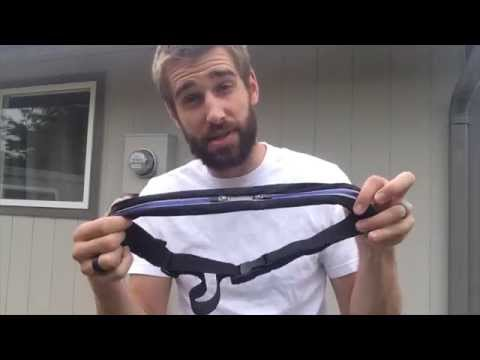 ★★★★★ Running Belt review: Waist Pack for Jogging & Outdoor Sports - Amazon - URPOWER® SPIbelt