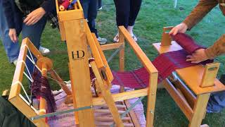 Clotho's Handspinners guild Sheep to Shawl, Henrico County Parks