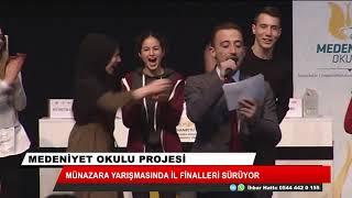 Medeniyet Okulu Projesi Haydi, Konuş Bakalım münazara yarışmasında heyecan sürüyor