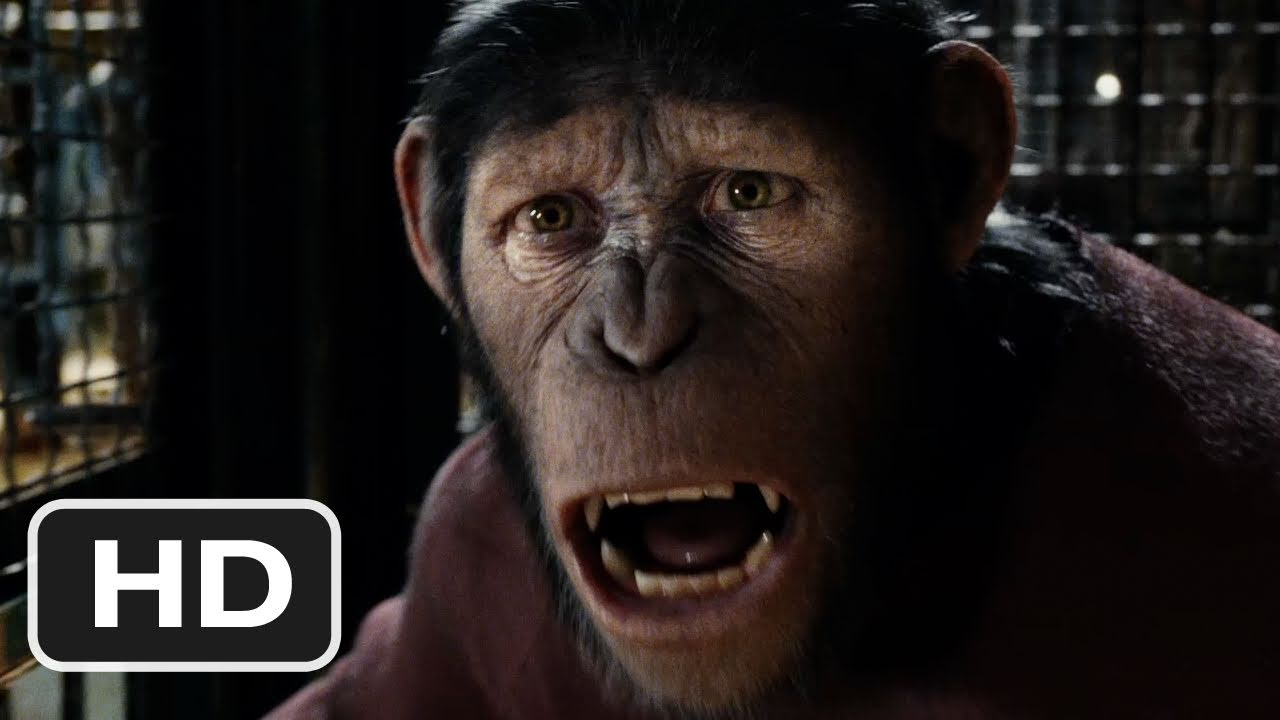 Movie Trailer #2:  Rise of the Planet of the Apes (2011)