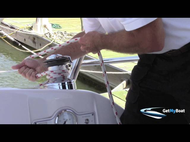 Boating Tips & Tutorials: How to Wrap a Winch on a Sailboat