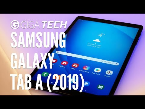 "SAMSUNG GALAXY TAB A (2019) 10.1 Hands-On (deutsch): ""Jedermann-Tablet"" angeschaut & ausprobiert"