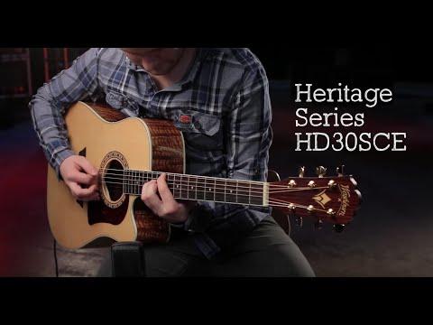 Washburn HD30SCE