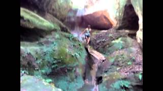 Waterfall Jaws of the Devil (Psechiako) / Водопад Пасть Дьявола (Псечиако)