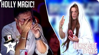 My JESUS CHRIST MAGIC AUDITION | Britain's Got Fake Talent (America's Got Talent PARODY)
