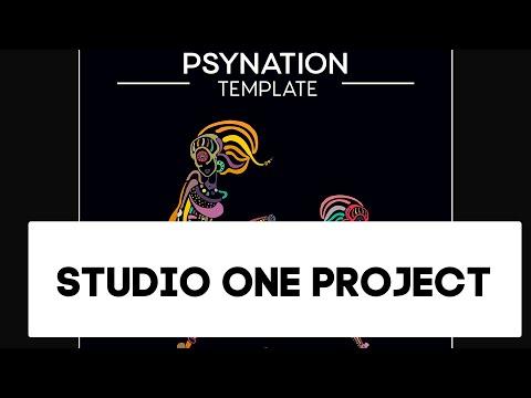 Psytrance - Psynation Studio One Template, Project als (Progressive)