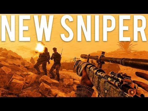 NEW Sniper! Battlefield 5