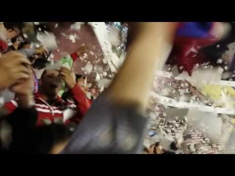 """Recibimiento WILSTERMANN vs the strongest"" Barra: Gurkas • Club: Jorge Wilstermann"