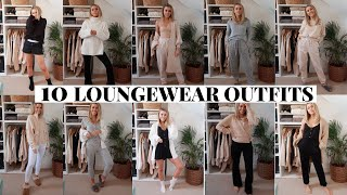 10 LOUNGEWEAR OUTFITS | WORK FROM HOME OUTFIT IDEAS | Copper Garden #stayhome