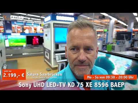 Saturn Saarbrücken - Sony 75 Zoll 4k