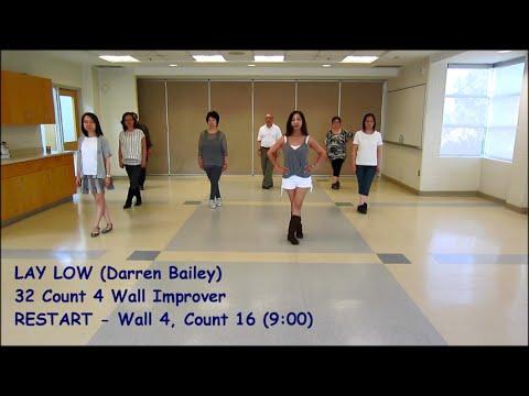 Lay Low - Line Dance (Dance & Teach)