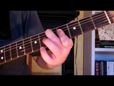 How To Play the D7-9 Chord On Guitar (D 7th minor 9th)