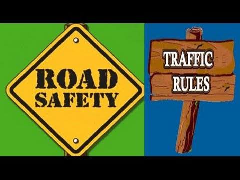 Road Safety ,Traffic Rules -Video for Kids