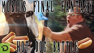 Hot Dog Battle - Mobius Final Fantasy In Real Life!