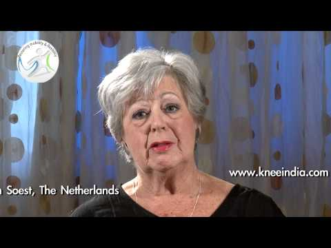 Knee replacement surgery India-Dutch patient testimonial for Dr.Venkatachalam