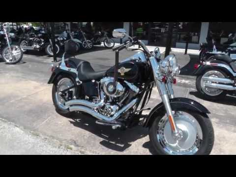 2005 Harley-Davidson Fatboy Anniversary FLSTFIA - Used Motorcycle For Sale