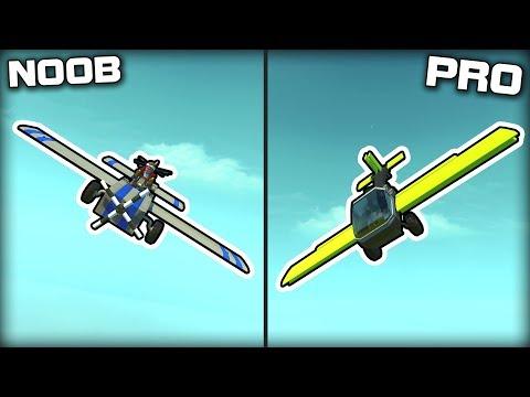NOOB vs PRO Plane Racing Challenge! (Scrap Mechanic Gameplay)