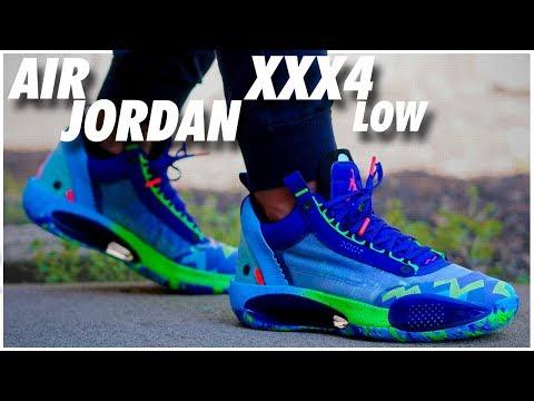 Air Jordan XXXIV Low 'Vapor Green'