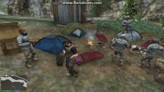 Illegal Immigrant Camp Busted [Map Editor]