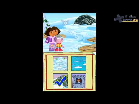 Dora Sauve la Princesse des Neiges Nintendo DS
